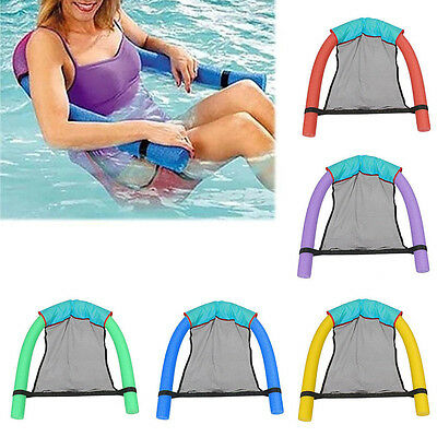 Swimming Noodle Seat Chair Sling Floating Float Pool Fun Kids Child Adult Traval