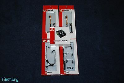 Walthers Lot of 5 HO Traffic Lights and Traffic Controller MIB **