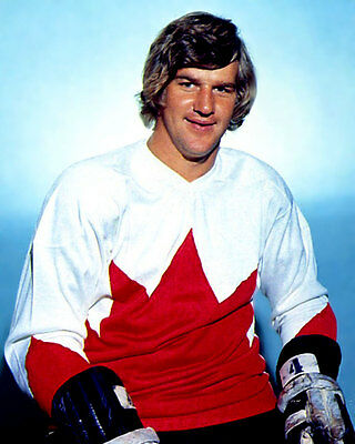 Bobby Orr team Canada 1972 Unsigned 8x10 Photo