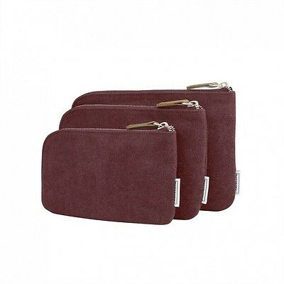 Travelon Heritage 3 Packing Pouches Wine 33087-230