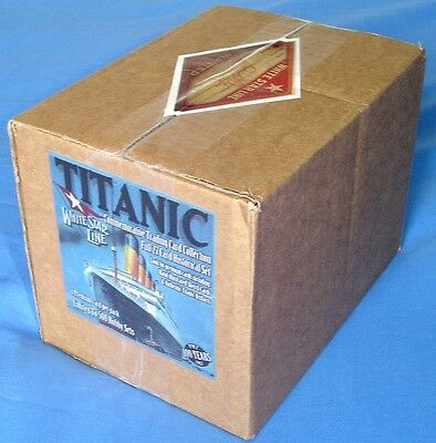 Rare (only 50) RMS Titanic 100 Years Commemorative Sealed Hobby Case of 10 Packs