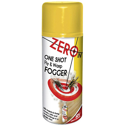 One Shot Wasp Fumigator Fogger Killer Spray Infestation Insect Fly Control Nest