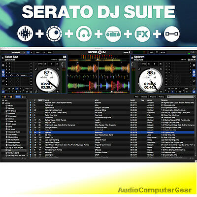 Serato DJ SUITE Professional Digital DJing Audio Software eDelivery NEW