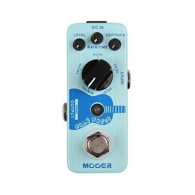 NEW Mooer Baby Water Acoustic Delay AND Chorus Pedal *US SELLER*