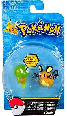 Pokemon Battlefiguren von Tomy Kern von Zygarde vs. Dedenne