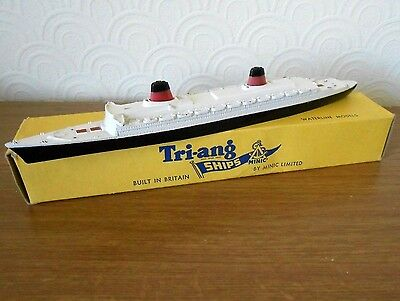 Vintage Triang Minic SS France Liner M707 diecast model with box - 1960`s