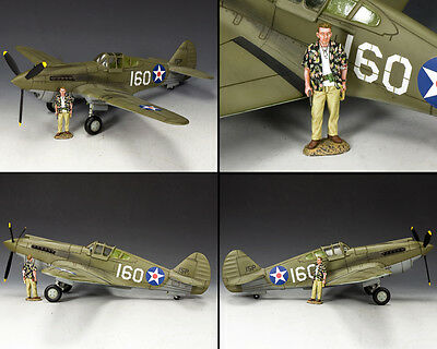 "KING AND COUNTRY WW2 Pearl Harbor P40 ""Tomahawk"" AF041 AF41"