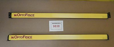 "Sti OF4172B-2 OptoFence 72"" Light Curtain Receiver Transmitter Set Used Working"
