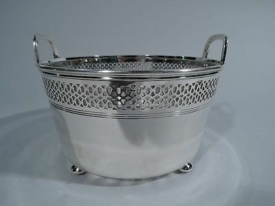Tiffany Ice Bucket - 17194B - Antique Barware - American Sterling Silver & Glass