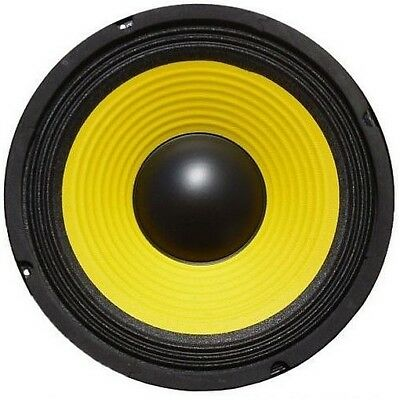 "WOOFER PROFESSIONALE 250W IN FIBRA DI VETRO 26 CM (10"") 4 OHM art. w-104"