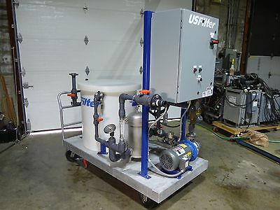Filter In Place Cart US Filter 5 HP Portable Nice