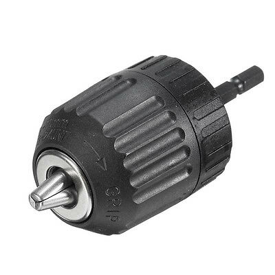 "0.8-10mm Keyless Drill Chuck Converter 3/8"" 24UNF   Best  X"