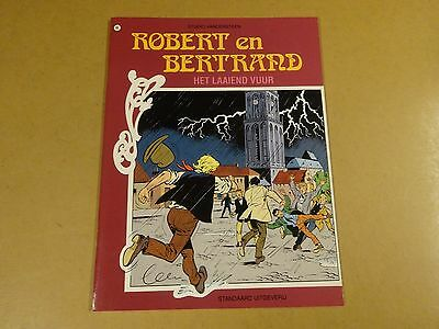 Strip 1° Druk / Robert En Bertrand N° 86