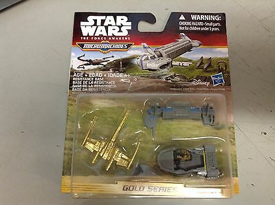 New Star Wars: The Force Awakens Micro Machines 3 Pack Resistance Base