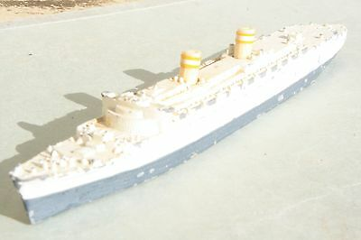 TRIANG MINIC SHIPS M706 NIEUW AMSTERDAM to restore (repainted) 1950s