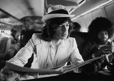 Art Print Poster / Canvas Mick Jagger on Stage