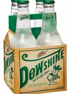 Mountain Dew Shine, Dewshine, Limited edition empty bottle ONE BOTTLE ONLY