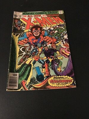 ORIGINAL X-MEN #107 1st APPEARANCE OF  THE STARJAMMERS KEY COMIC!!