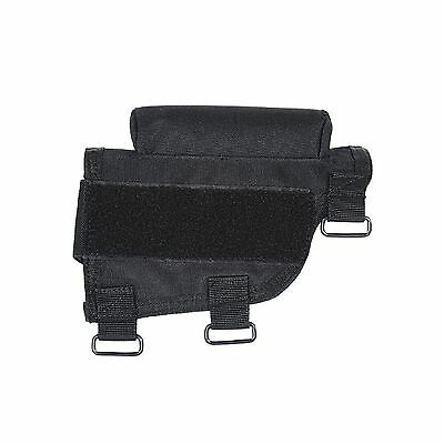 VooDoo Tactical 20-9421001000 Buttstock Cheek Piece with Ammo Carrier Black New