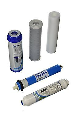 Purenex 1C-1GAC-1S-1I-1M50 Reverse Osmosis RO Filter Replacement Set with... New