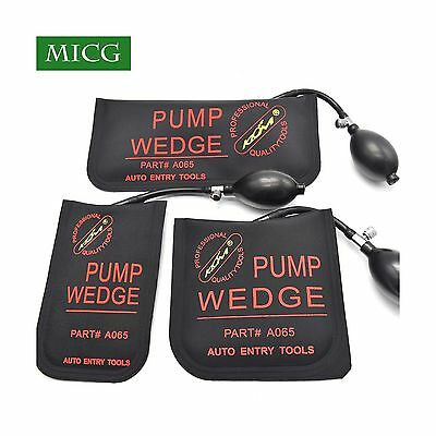 MICG Rubber Auto Entry Airbag Powerful Hand Pump Air Wedge Alignment Tool... New