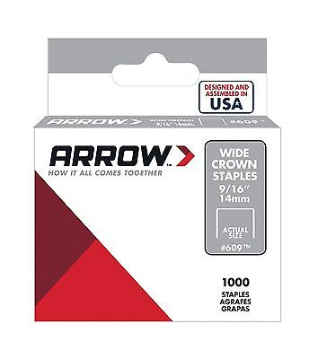 Arrow Fastener 60930 9/16-Inch Wide Crown Swingline Heavy Duty Staples 10... New