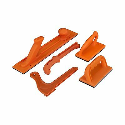 POWERTEC 71009 Safety Push Block and Stick Package 5-Piece New