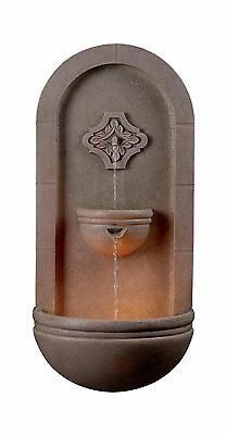 Kenroy Home 50025COQN Galway Wall Fountain Coquina Finish New