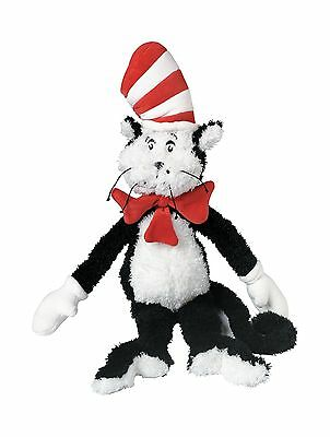 """Manhattan Toy Dr. Seuss Cat in the Hat 20"""" Soft Plush Toy New"""