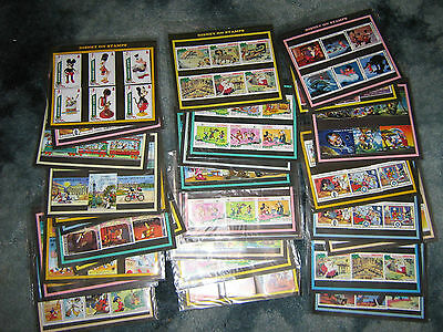 30 Different Packs of Disney Stamps A Nice Lot