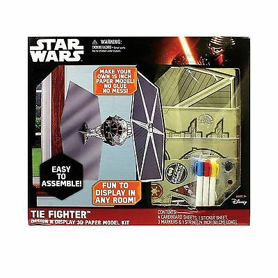 Disney Star Wars: Episode VII The Force Awakens Tie Fighter Design N Disp... New