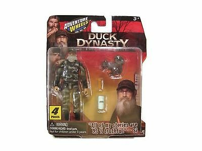 Adventure Wheels Duck Dynasty Figure Uncle Si New