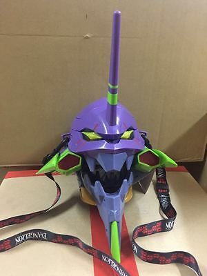 Universal Studios Japan exclusive Evangelion Unit EVA-01 Popcorn bucket