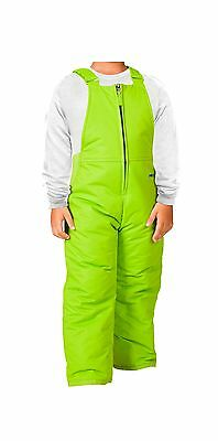 Arctix Chest High Insulated Bib Overall 3T Lime Green New