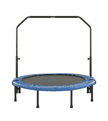 Upper Bounce Mini Foldable Rebounder Fitness Trampoline with Adjustable H... New