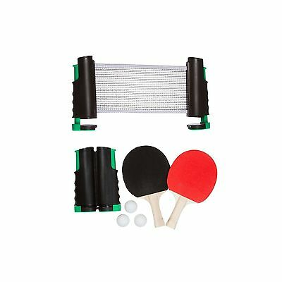 Trademark Innovations Anywhere Table Tennis Set with Paddles and Balls Gr... New