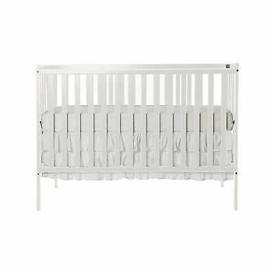 Dream On Me Synergy5 in 1 Convertible Crib White New