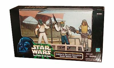 Kenner Star Wars 1998 The Power of The Force 3-Pack Movie Scene 4 Inch Ta... New
