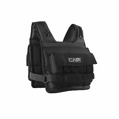 CAP Barbell Short Adjustable Weighted Vest 20 lb New