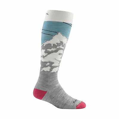 Darn Tough Women's Yeti Over-the-Calf Cushion Socks Glacier Large New