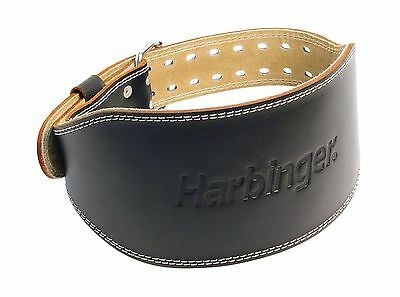 Harbinger 28420 4-Inch Padded Leather Lifting Belt Medium 4 Inch New