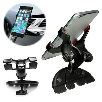 CD Slot Mobile Phone Holder  In Car Universal Stand Cradle Mount for GPS iPhone