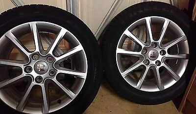 "Seat leon 16"" alloy wheels (set of two)"
