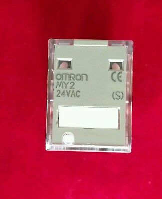 OMRON MY2-24VAC Coil 8-Pin Ice-Cube Relay 10A DPDT