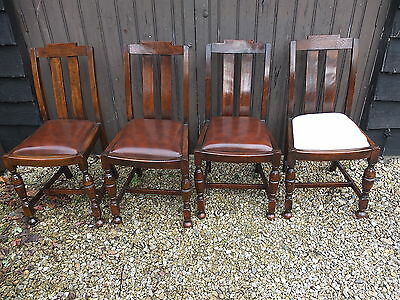 Edwardian Dining Chairs x 4