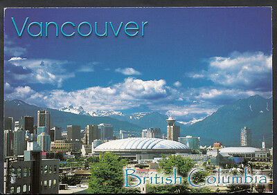 Canada Postcard - Vancouver Skyline With BC Place & GM Place   B2454