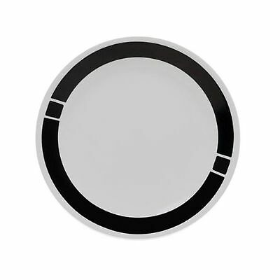 Corelle Urban Black Lunch Plate- Set of 6 Lunch plates New