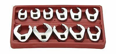 ATD 1090 3/8-Inch Drive SAE Flare Nut Crowfoot Wrench Set 11-Piece New