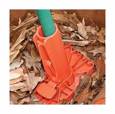 EZ Lawn and Garden Leaf Stomper 10-Inch Orange New
