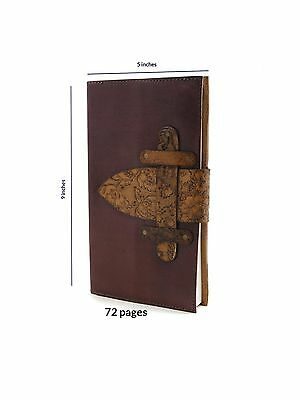 Store Indya Leather Diary Unlined Journal Notebook Planner Embossed with ... New